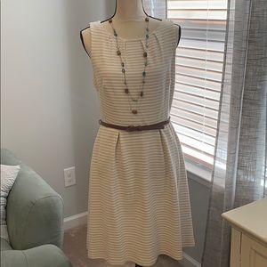 Striped dress with pockets!!